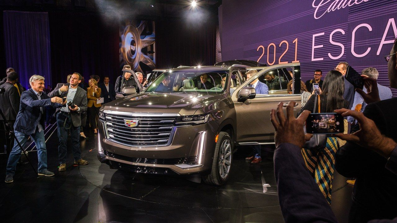 Cadillac's New 2021 Escalade Features Many High-Tech Firsts