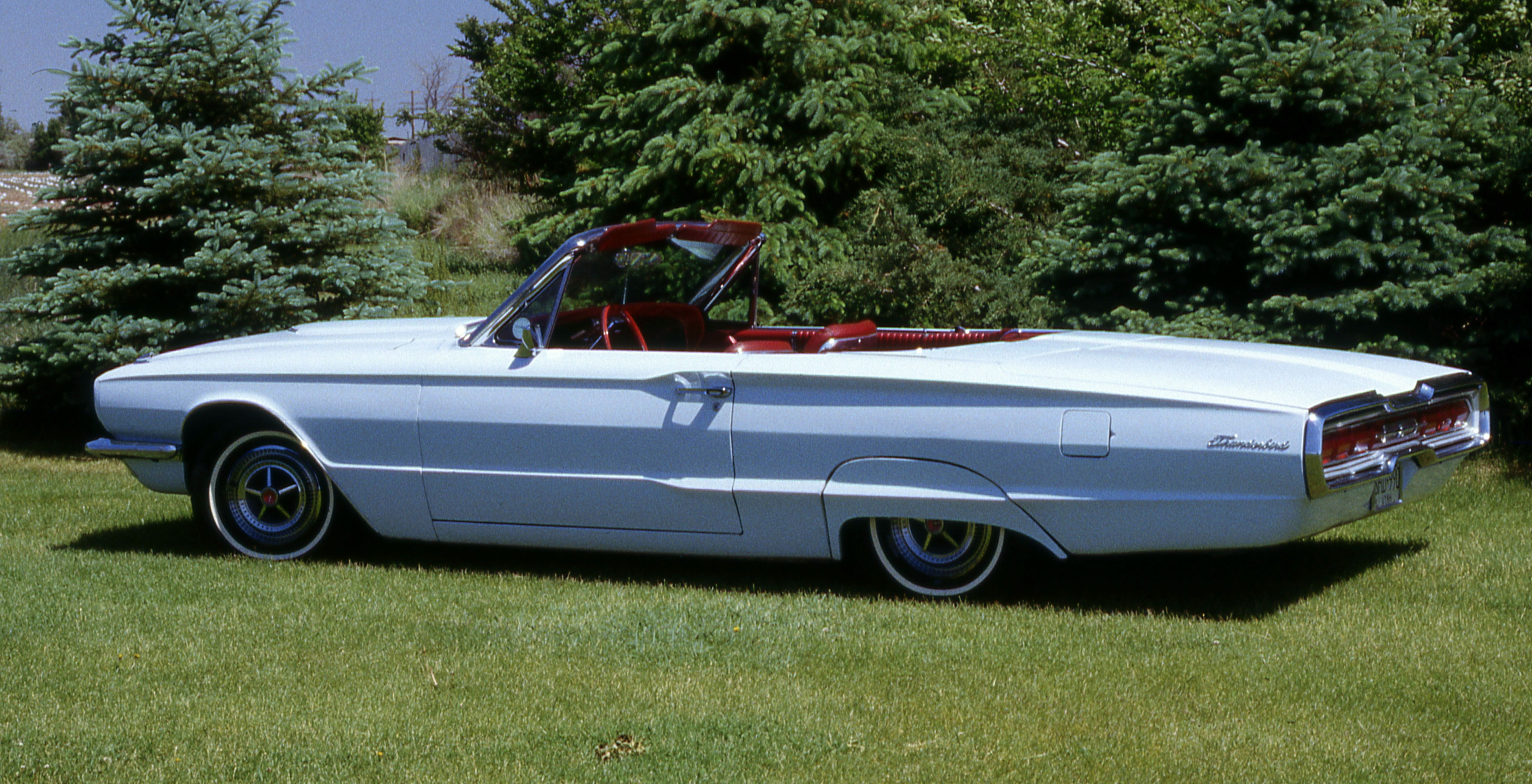 1966 ford thunderbird convertible arcadia blue