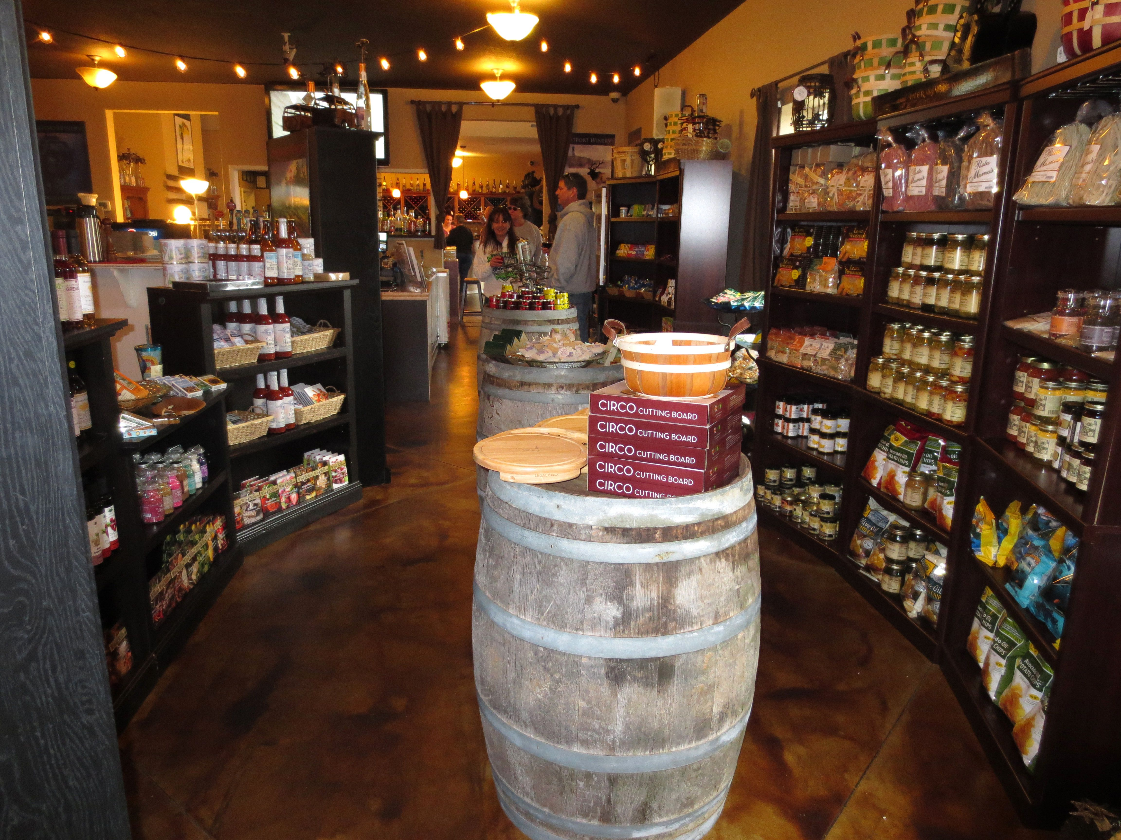 we were delighted to discover this week that westport winery