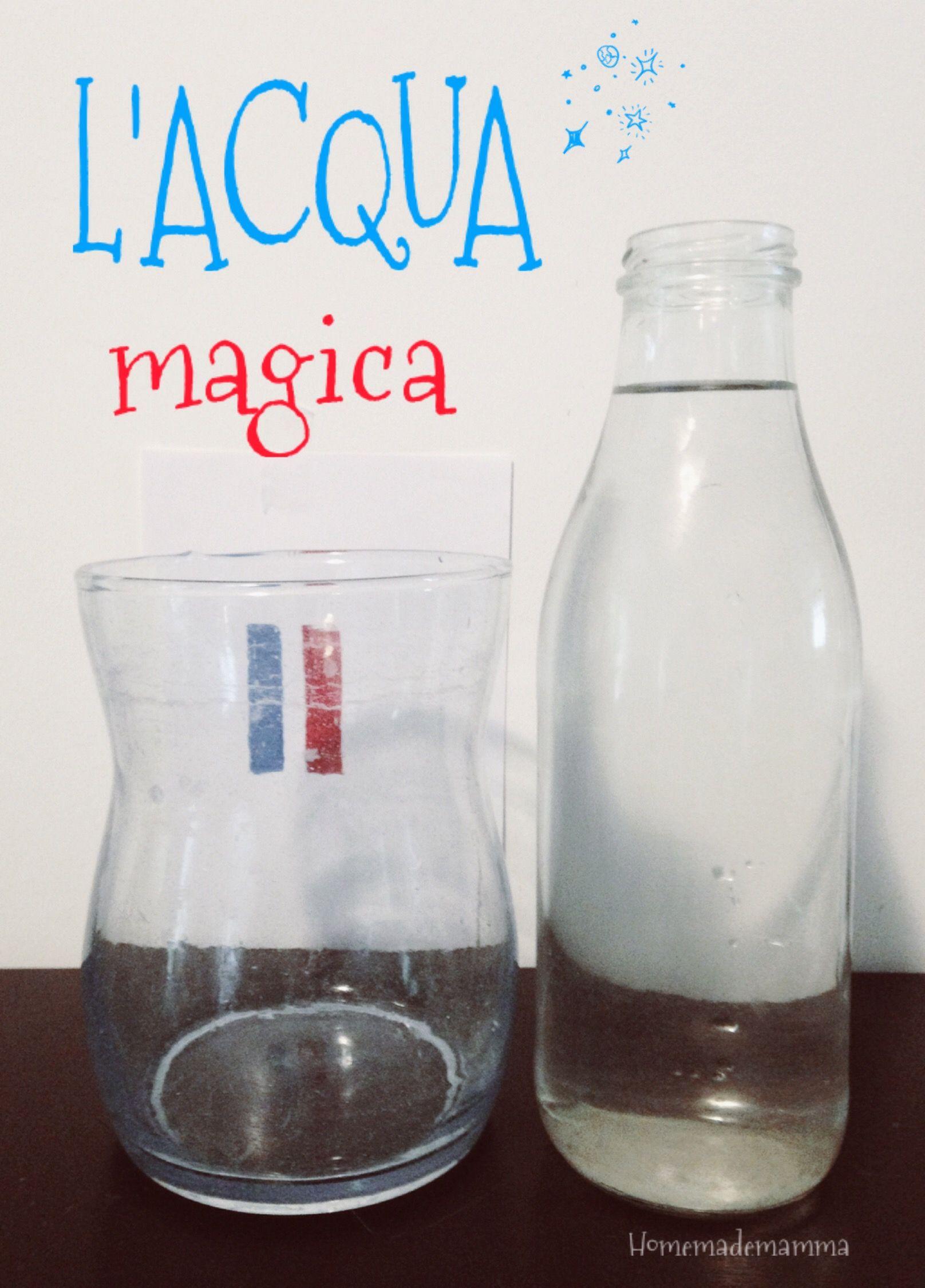 Esperimenti con l acqua per bambini zw47 regardsdefemmes - Depurare l acqua di casa ...