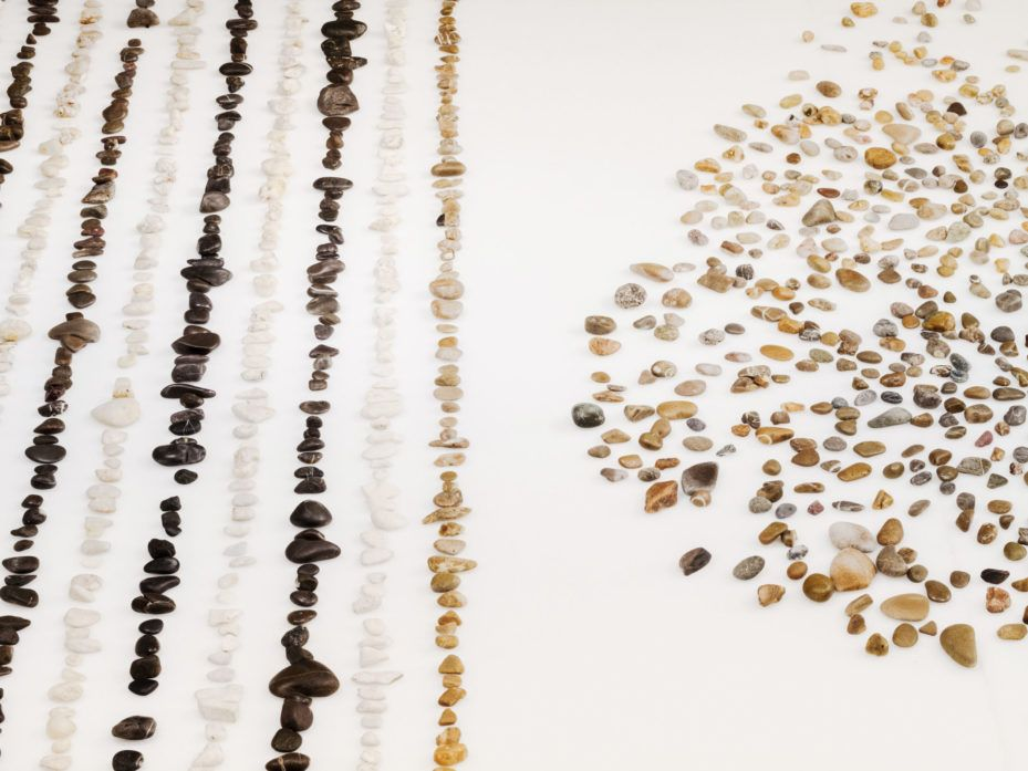 Two artists built a robot that sorts stones and it's totally spellbinding.