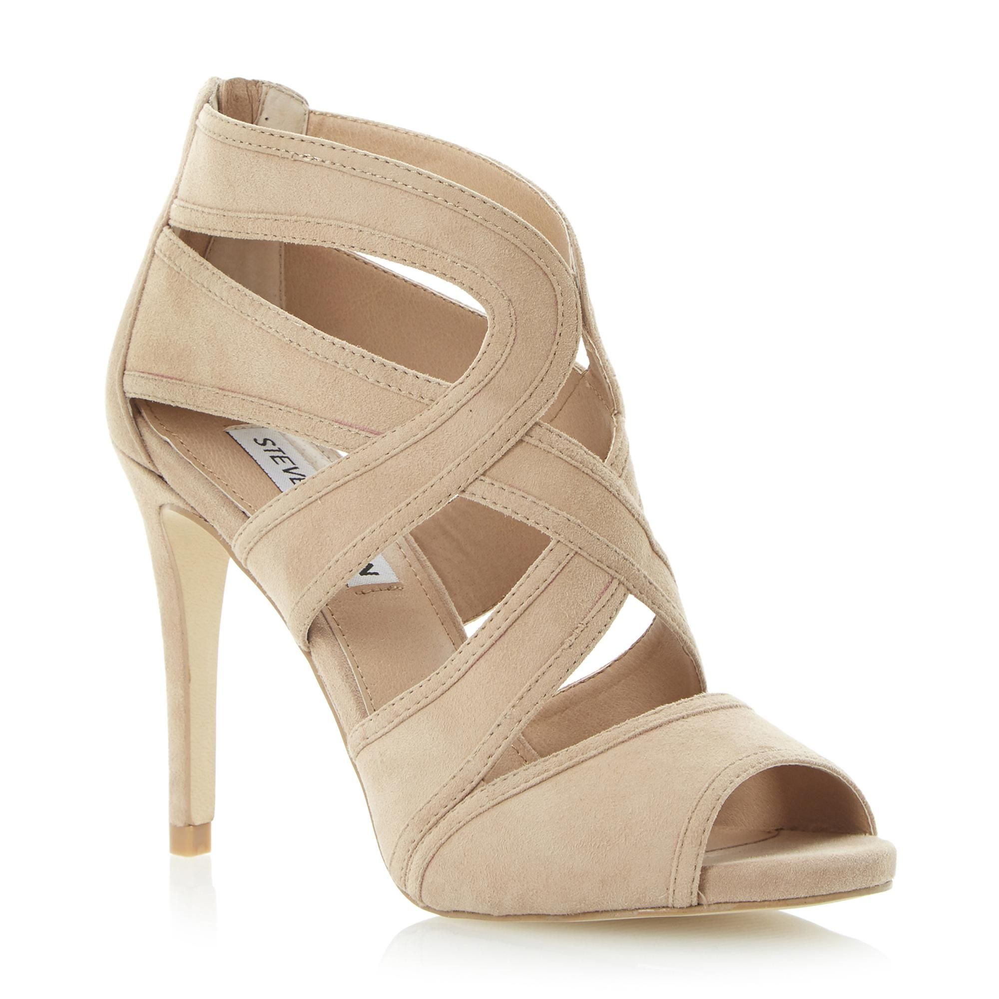 High quality Sandals Steve Madden Immence Women Silver Glitter US Online