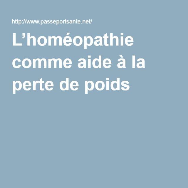 Homéopathie pour maigrir : une aide minceur pour perdre du poids naturellement