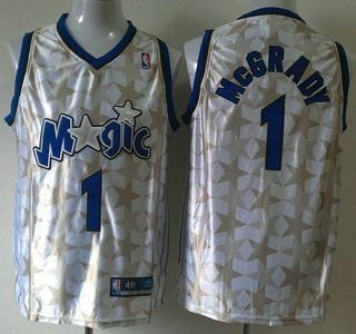 the latest aed37 add39 Orlando Magic Jersey #1 Tracy McGrady All-Star White ...