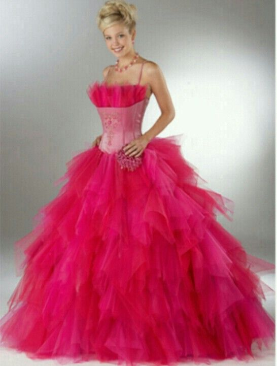 Pink fluffy dress | Prom Time! :) | Pinterest