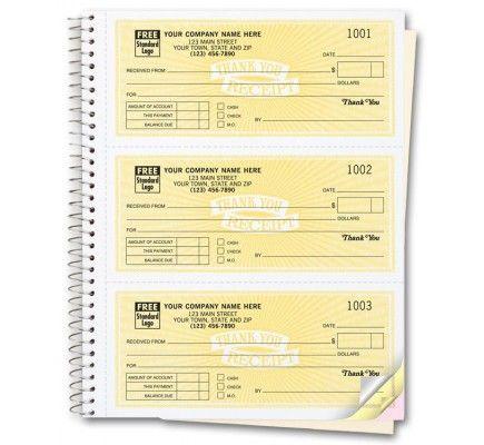 Custom Receipt Books Free Shipping Invoice Design Receipt Custom