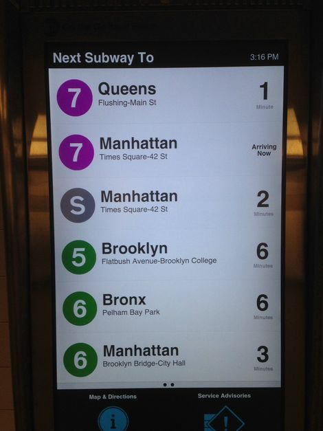 Come On and Touch Me: MTA Rolls Out Interactive Info Screens