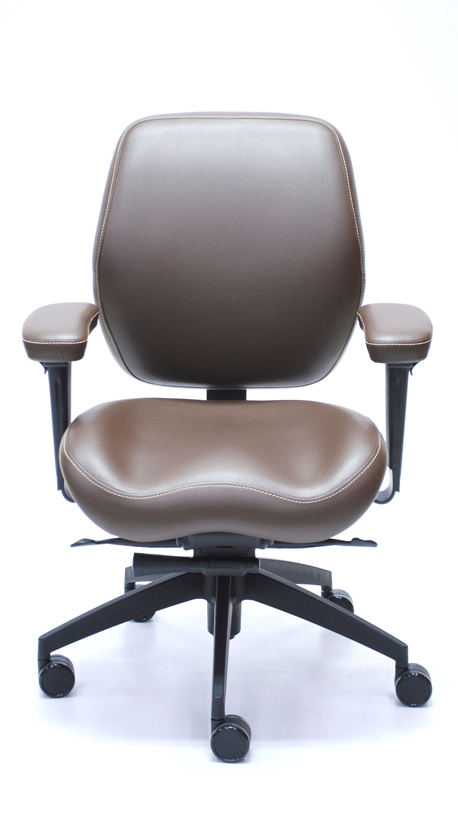 Balance Management Mid Back 5694 Chair Desk Chair Faux Leather