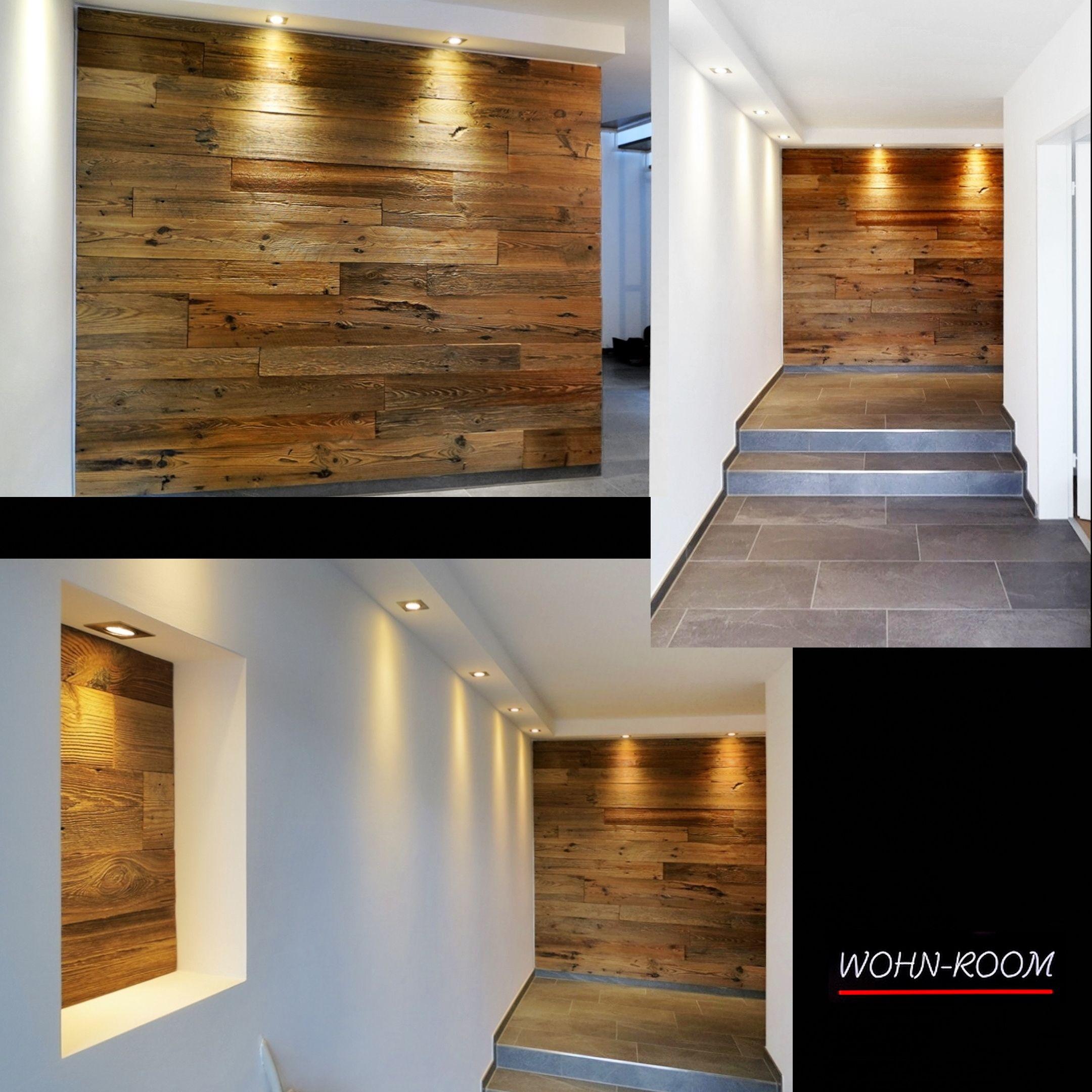 Unser Scheunenholz In Einem Eingangsbereich
