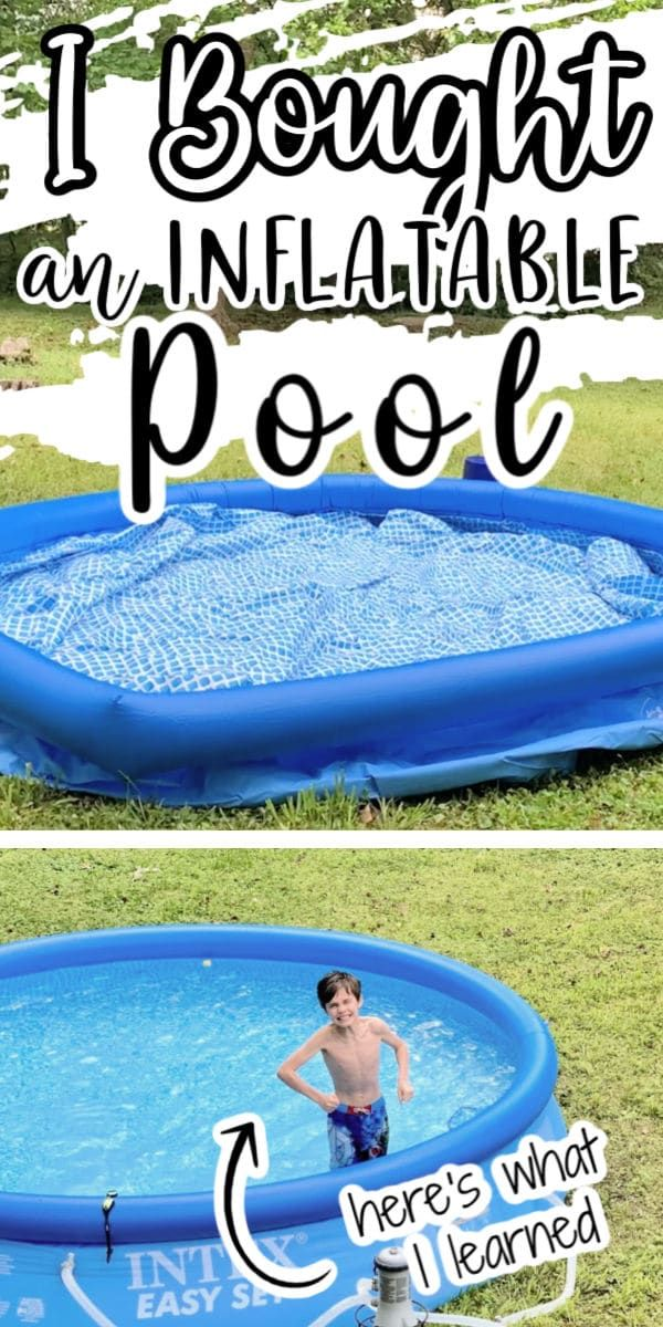 Buying An Inflatable Family Pool Isn T Complicated But There Are A Few Things To Know About The Process Her In 2020 Family Inflatable Pool Pool Activities Family Pool