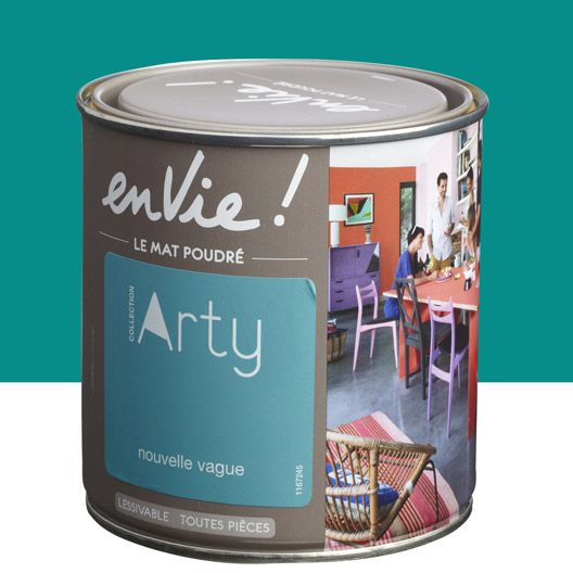 Peinture multisupports Envie Collection Arty LUXENS, vert nouvelle vague, 0.5 L