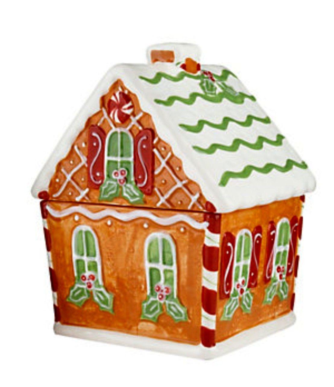 Gingerbread House Cookie Jar Gingerbread house cookies