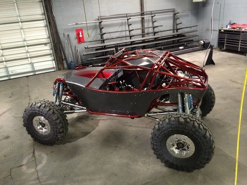 Rock Crawler Chassis : Rock bouncer chassis wide open design crawler
