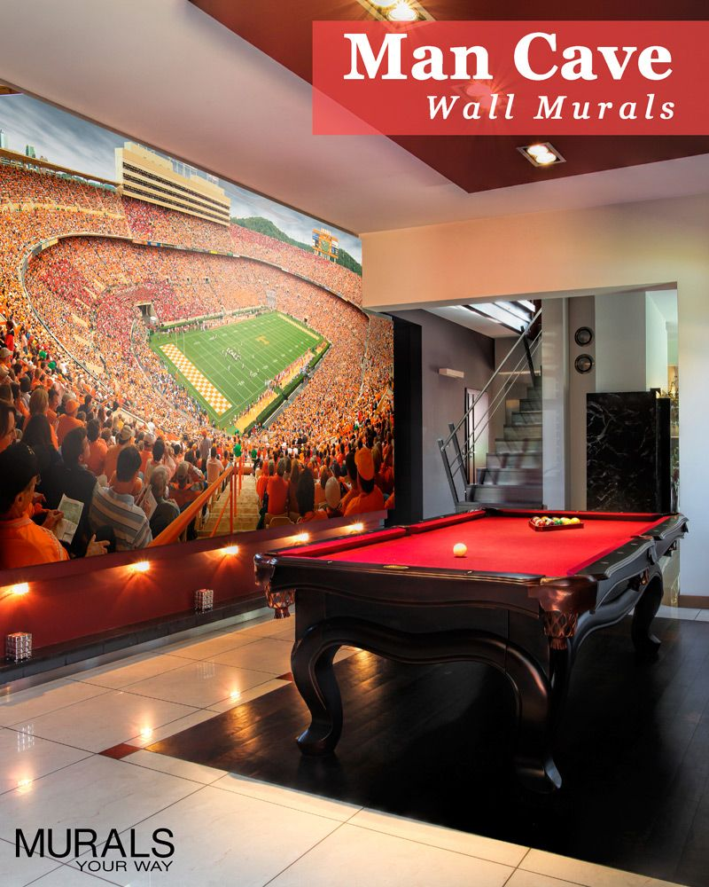 Man Cave Or Fan Cave Take Your Love Of The Game To The Next Level