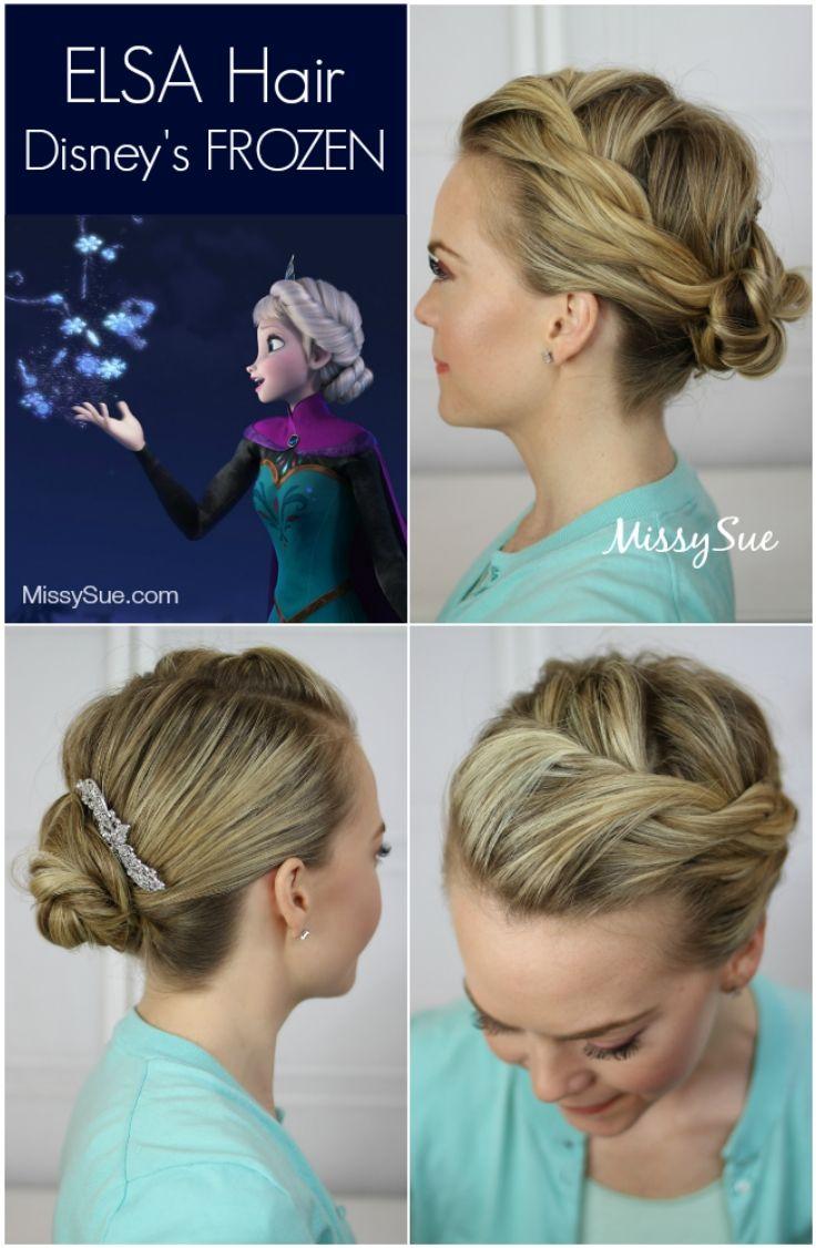 6 hairstyle tutorials from disney s frozen frisuren. Black Bedroom Furniture Sets. Home Design Ideas