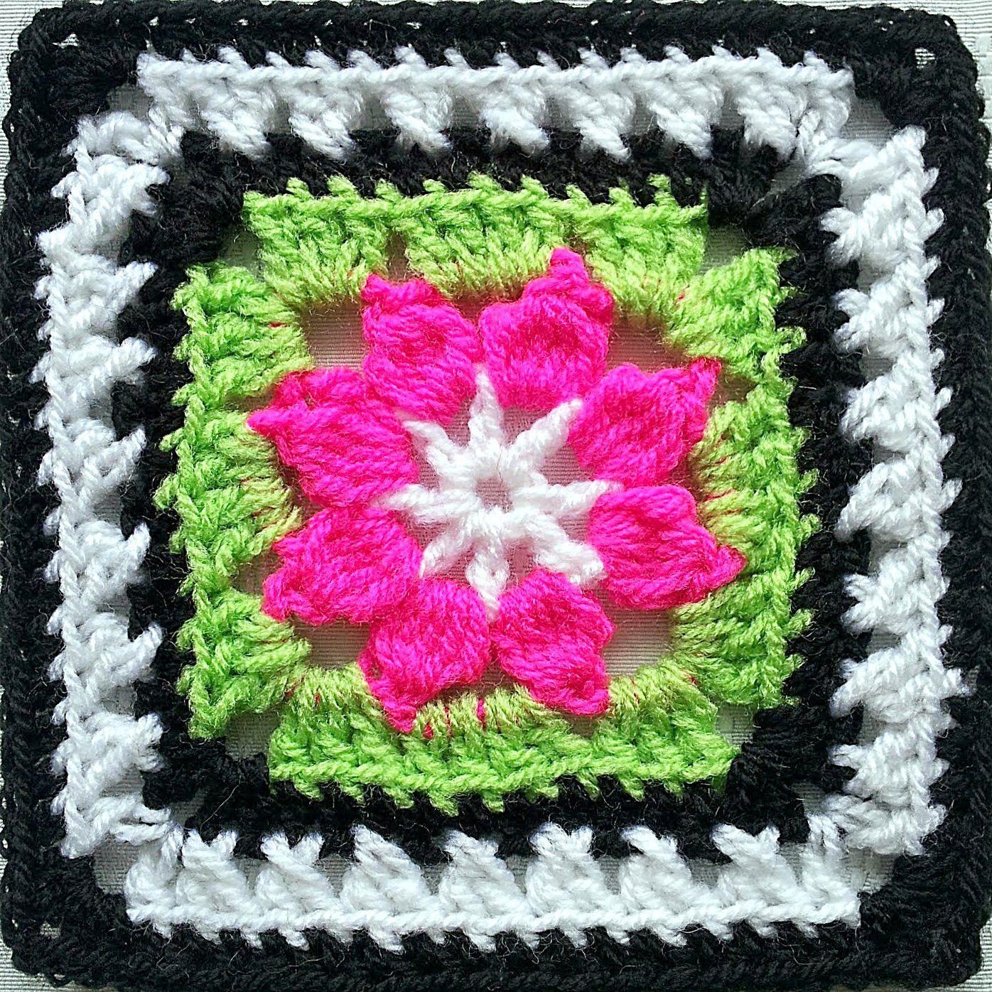 So Far, So Good: Walled Garden Square (maybe) | Crochet | Pinterest ...