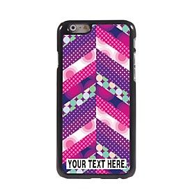 Personalized Case Colorful Design Metal Case for iPhone 6 (4.7