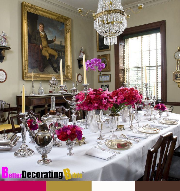 Table Settings · Luxury French Decor/images | How To Entertain French Style Dinner  Party Event Stylish Entertaining Part 69