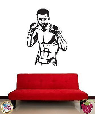 Wall Stickers Ufc Mma Mix Martial Arts Fighter Z1172 Mixed