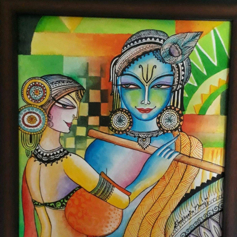 Pin by Ashwini Krishna on Acrylic Paintings Modern art