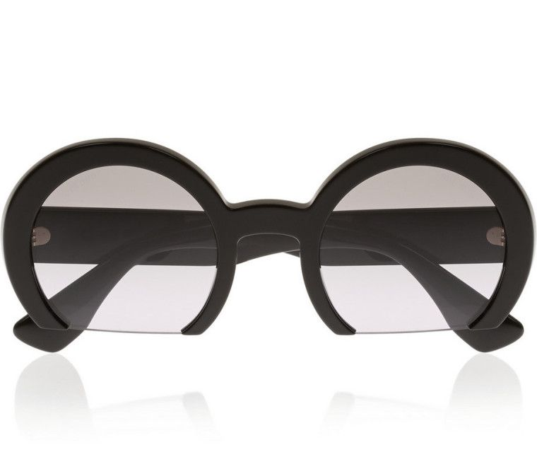 fce4c62ea9 These Half-Circle Miu Miu Sunglasses Are a Must-Have-Wmag