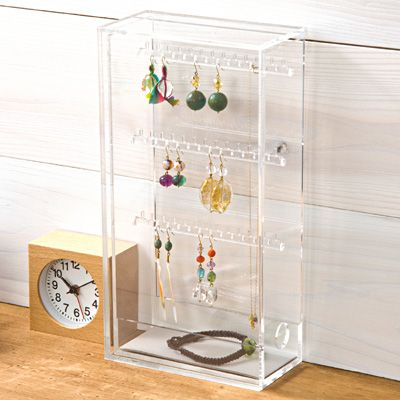 Acrylic Earring Stand Http Muji Us Storage