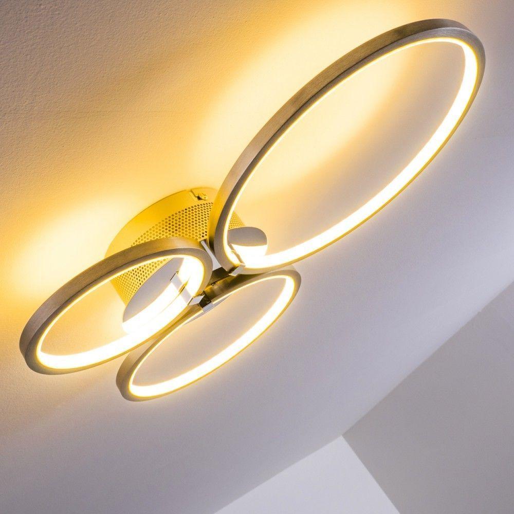 modern spot lighting. LED Design Ceiling Light Modern Ring Style Lamp Flush Spot Lighting Metal 138752 In Home,