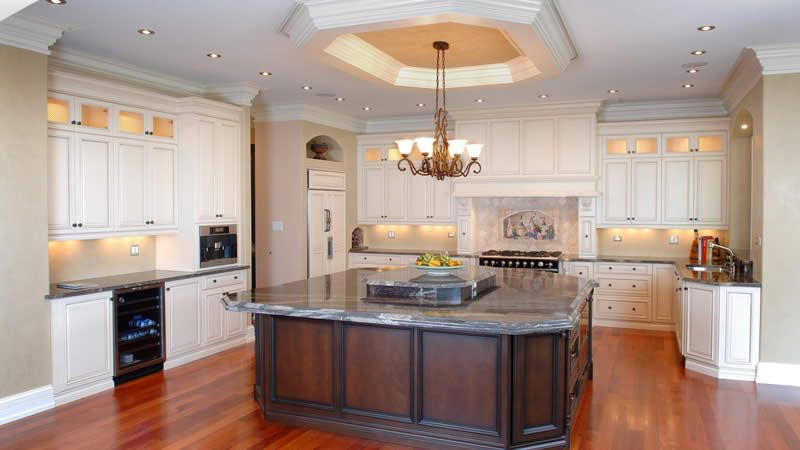 cherry island kitchen cabinets, , kitchen cabinets | kitchens