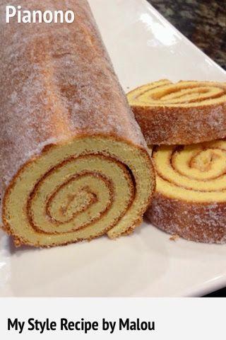 Pound Cake Roll Recipe