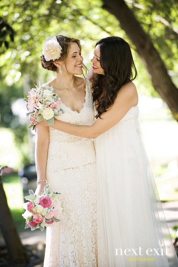 Lgbt Wedding Photography: Lesbian Wedding Photography By Next Exit Photography