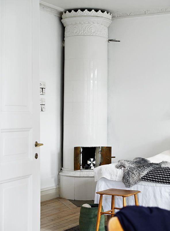 Wow, that heater!!! La maison d'Anna G.