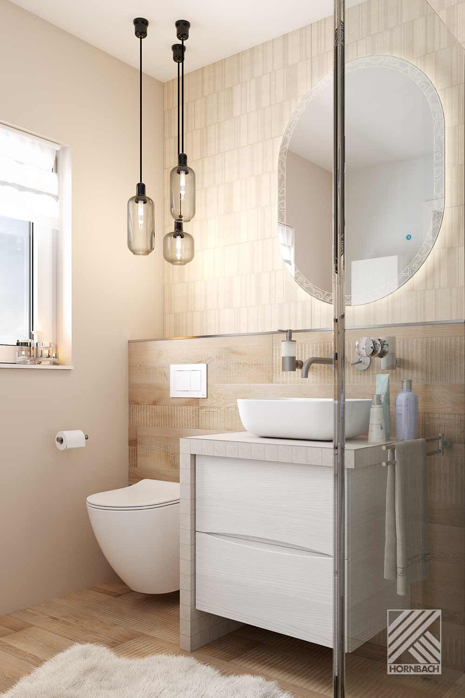 Musterbad Kopenhagen   HORNBACH   Badezimmer gestalten, Kleines ...
