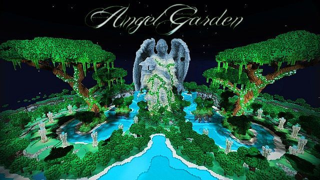 angel garden minecraft project