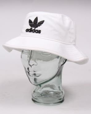 40841396f30 Adidas Originals AC Bucket Hat White