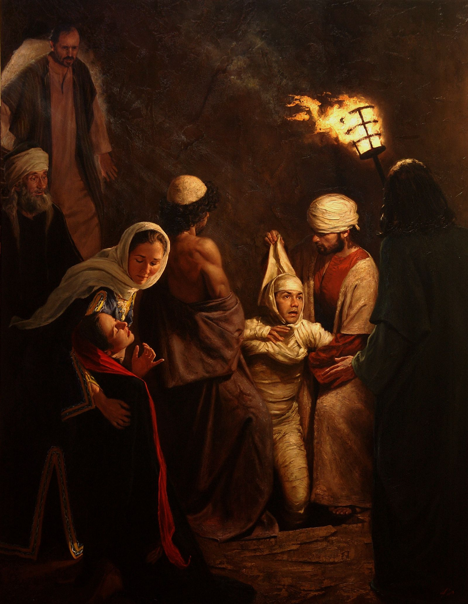 Jeff Hein's Portfolio Painting History/Scripture