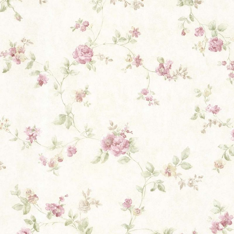 vintage rose englische landhaus satintapeten langer rosen ast art nr 68332 tapeten. Black Bedroom Furniture Sets. Home Design Ideas