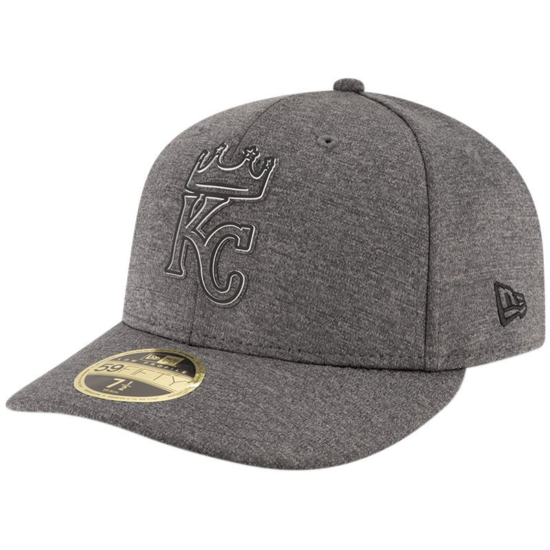 official photos 7b226 bdd11 Kansas City Royals New Era 2018 Clubhouse Collection Low Profile 59FIFTY  Fitted Hat - Graphite