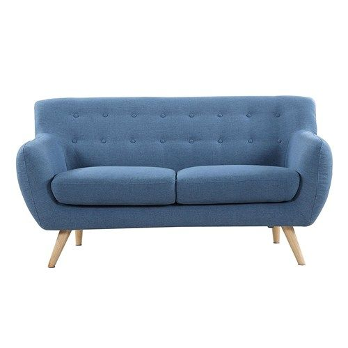 Blue Sofa Vintage Design Mid Century Modern Retro Furniture Online Free Shipping