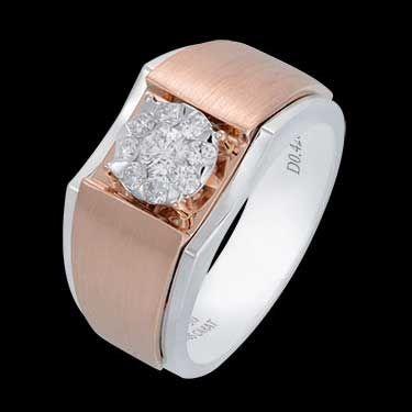 #Diamond's Mens Ring