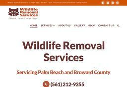 New Pest Control Services added to CMac.ws. Wildlife Removal Services in Boca Raton, FL - http://pest-control-services.cmac.ws/wildlife-removal-services/19232/