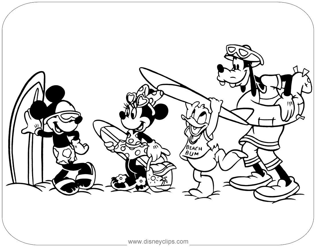 Mickey And Minnie Coloring Pages Mickey Mouse Friends Coloring Pages 2 Disneyclips Davemelillo Com Mickey Coloring Pages Minnie Mouse Coloring Pages Mickey Mouse Coloring Pages