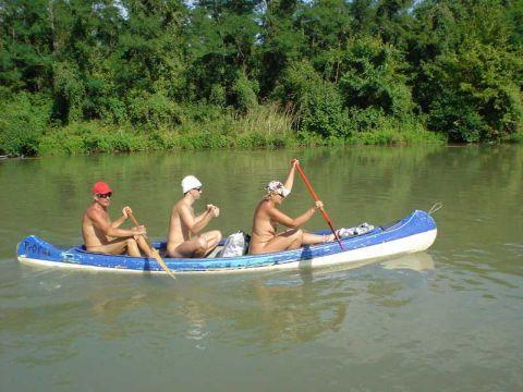 Canoe nude beach