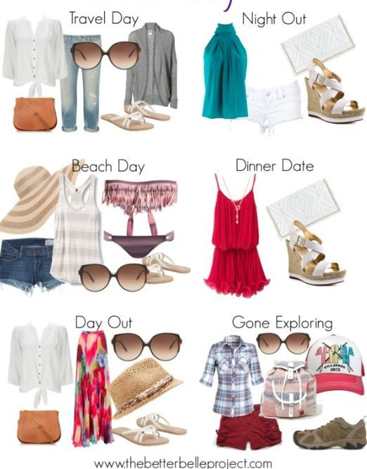 Ready, Set, Break: Spring Break Packing List #vacationoutfits