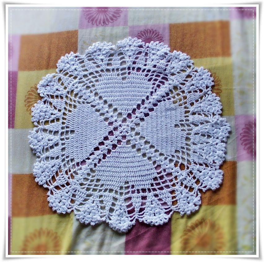Contemporáneo Patrón De Crochet Pañito Principiante Friso - Manta de ...