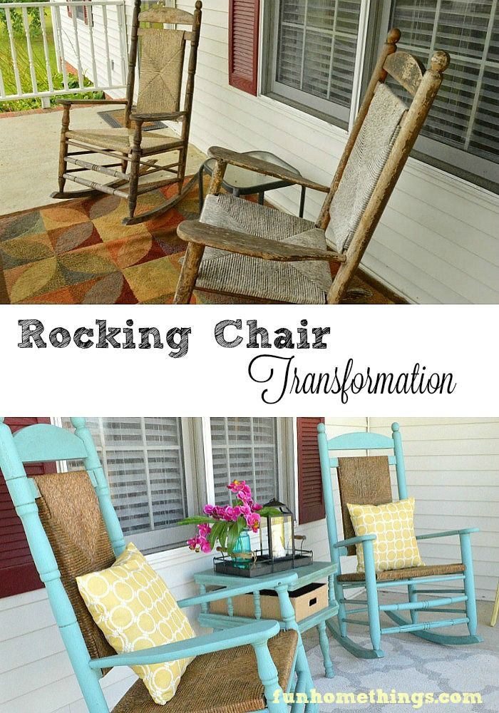 Giving New Life to Old Rocking Chairs Old rocking chairs