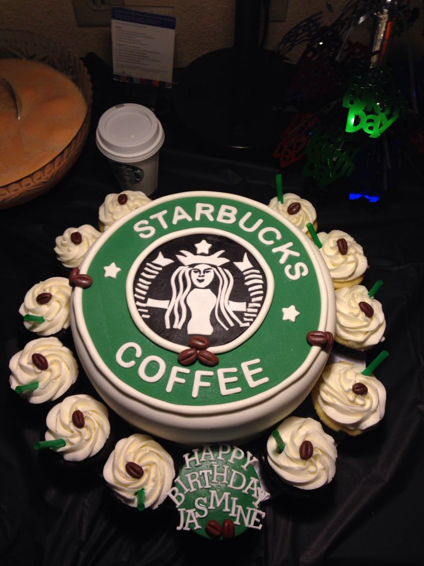 Starbucks birthday cake | Starbucks cake, Starbucks ...