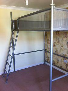 Ikea Double High Sleeper Loft Bed Ebay Loft Bed Bed High Sleeper