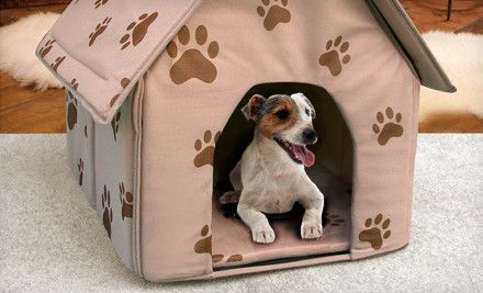 12 For This Cute Portable Dog House Over Half Off Dog Houses