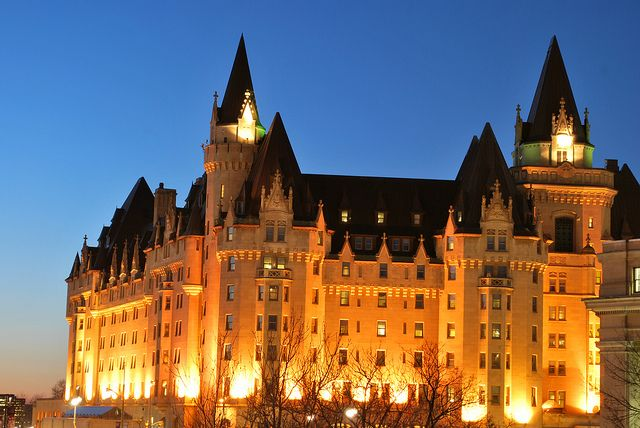 Chateau Laurier by Pontiaclady, via Flickr