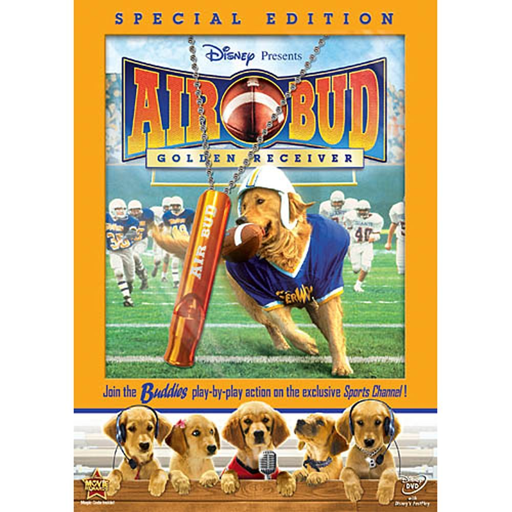 Air Bud: Golden Receiver Special Edition DVD  shopDisney #AD, #Golden, #SPONSORED, #Receiver, #Air, #Bud